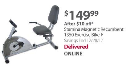 Stamina Magnetic 1350 exercise bike
