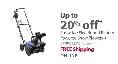 Snow Joe Blowers