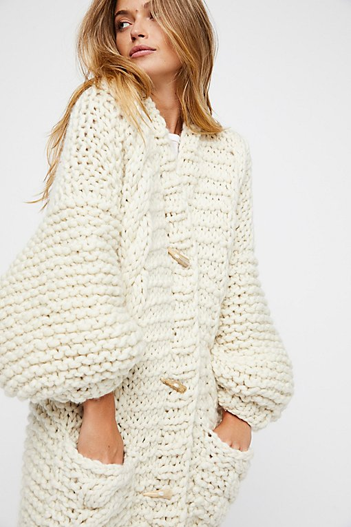 Rockstar Sweater Coat