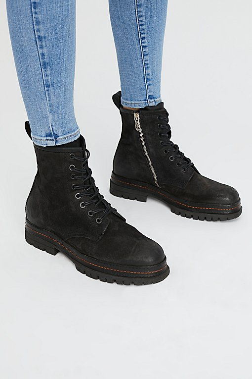 Johnnie's Lace-Up Boots