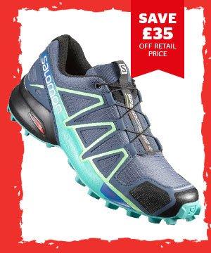 Salomon Women'sSpeedcross 4 Trail Running Shoe