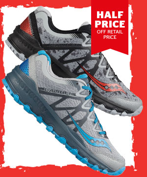 Saucony Men's / Women's Caliber TR Trail Running Shoe