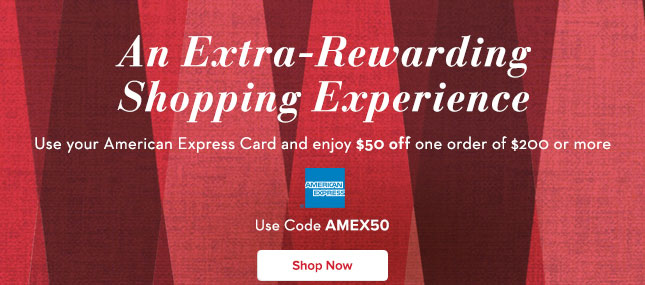 Use AMEX50 & Get $50 Off