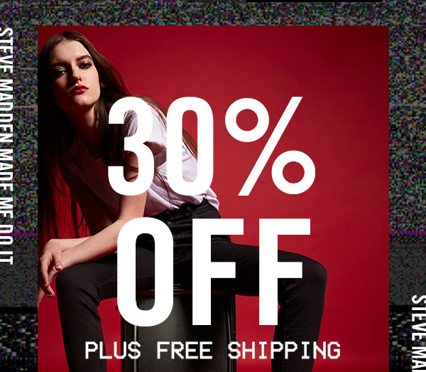 Enjoy 30% OFF plus Free Shipping!