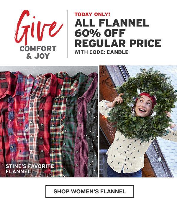 WORLD'S BEST FLANNEL | SHOP WOMEN'S FLANNEL