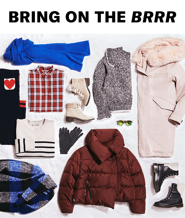 Our latest winter coats, boots, and accessories are here.