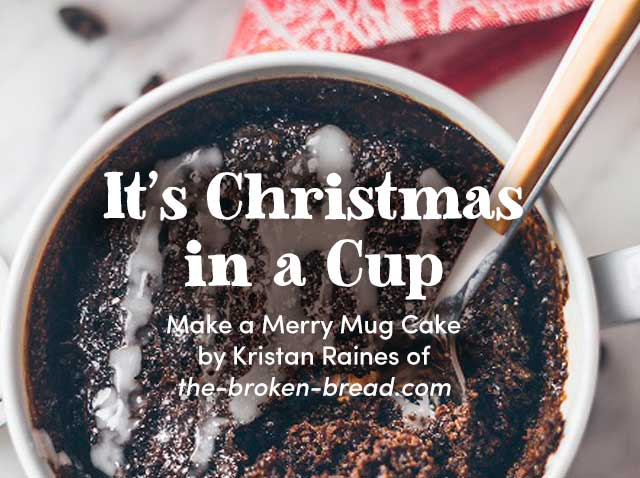 It's Christmas In A Cup - Get Recipe