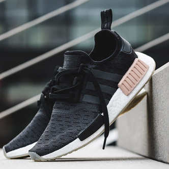 low priced 55215 be2a2 adidas NMD R1 core blackcarbonftwr white ...