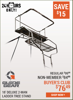 Guide Gear 18 Foot Deluxe 2-Man Ladder Tree Stand