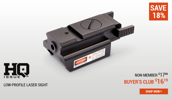 HQ ISSUE Low-Profile Laser Sight