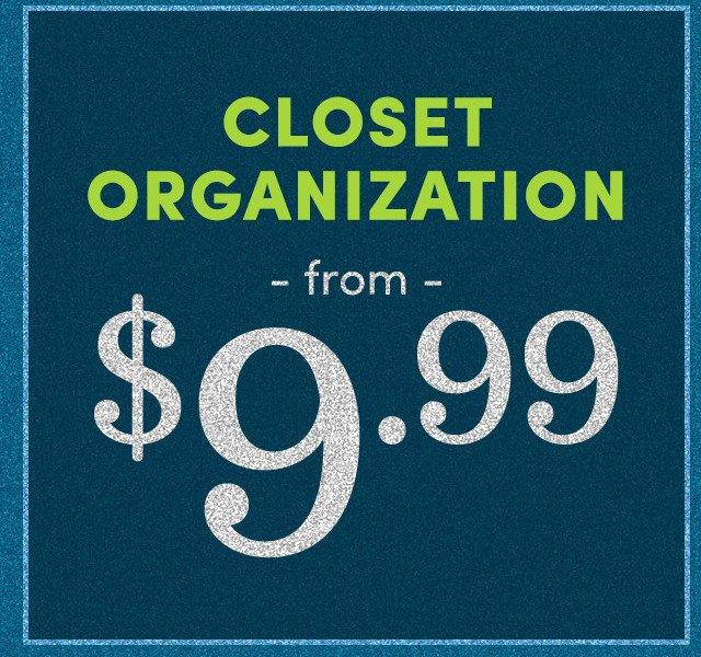Closet Org
