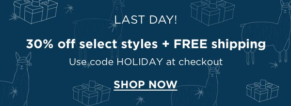 Shop Holiday Styles Sale