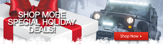 Holiday Gift Guide for Jeep Parts and Accessories