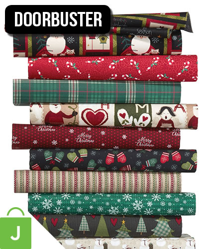 Christmas Cotton Fabrics.