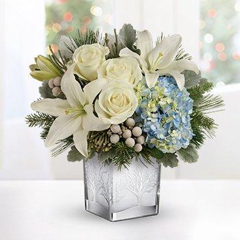 Teleflora's Silver Snow Bouquet