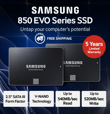 Samsung 850 EVO Series SSD