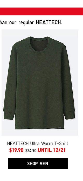 Men HEATTECH Ultra Warm T-Shirt  NOW $19.90 - Shop Men