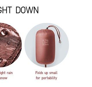 Ultra Light Down From $39.90 - Shop Men