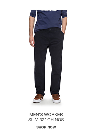 Product 2 - Men's Worker Slim 32 In Chinos
