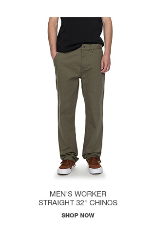 Product 4 - Men's Worker Straight 32 In Chinos