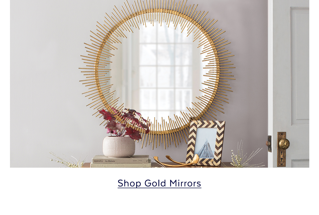 Gold Mirrors