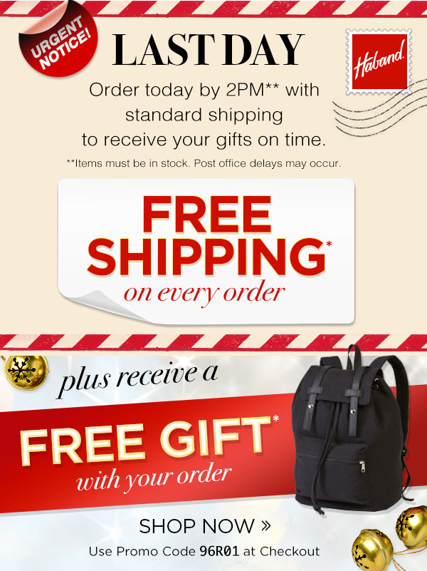 FREE SHIPPING & FREE GIFT On Every Order