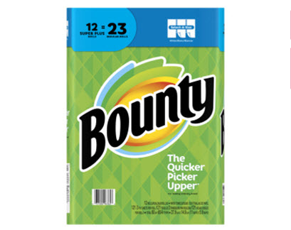 DOD Bounty Paper towels