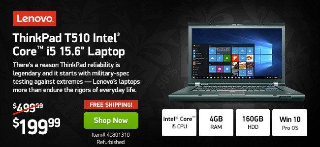 Lenovo 4GB Core i5 <span style='color:#cc0000;'>Pro</span> Laptop|40801310|Shop Now
