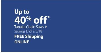 Tanaka Chain Saws