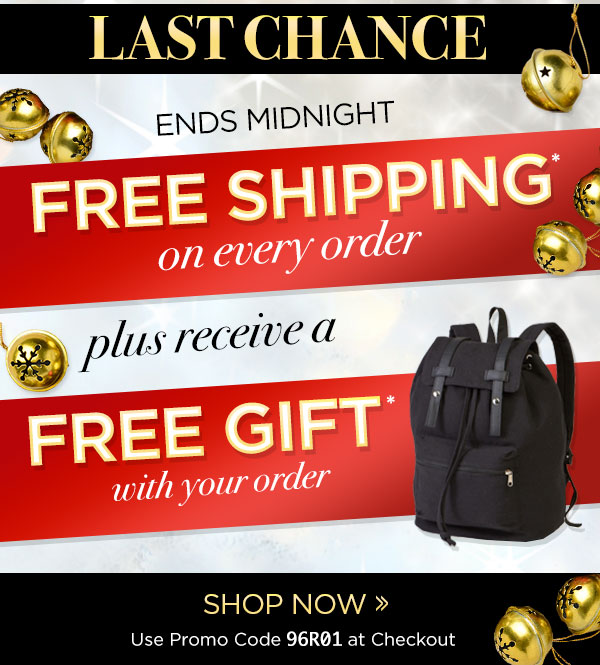 FREE Shipping + FREE Gift On All Orders!