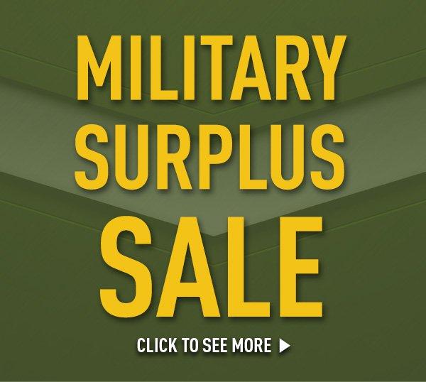 Military Surplus Sale