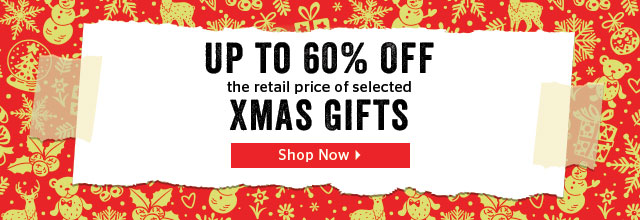 60% Off Selected Gifts