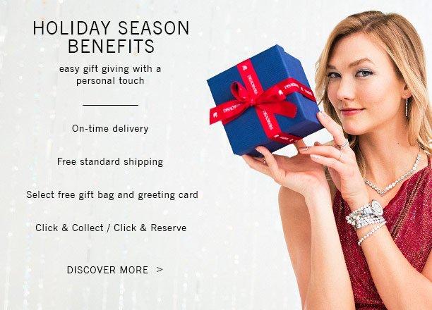 Holiday Season Benefits