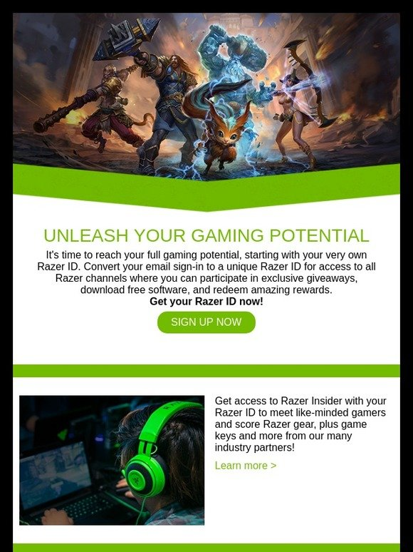 Razer US: Empower Your Game with Razer ID | Milled