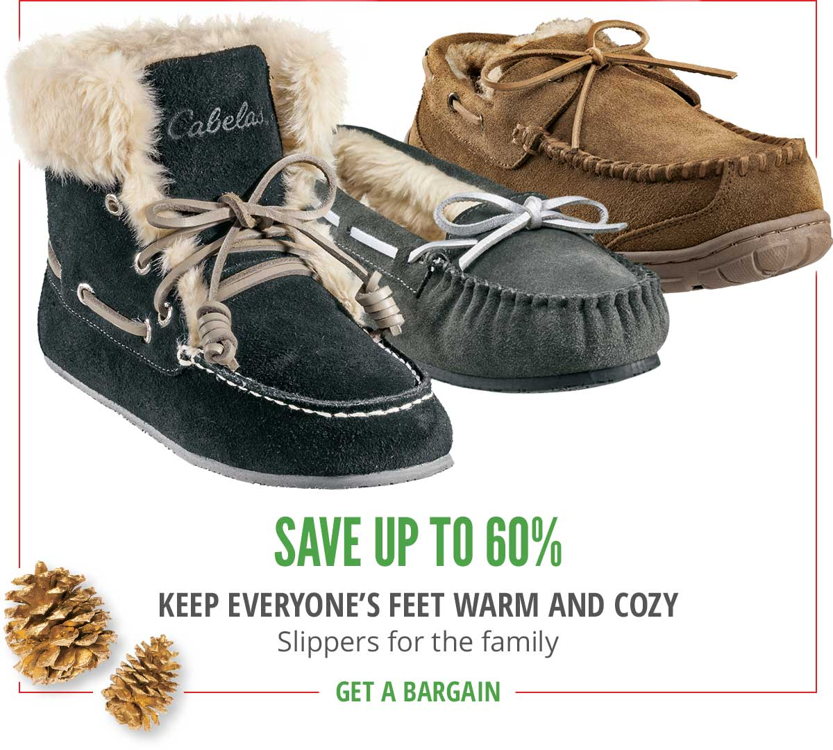 Save Up To 60% And Keep Everyone's Feet Warm And Cozy