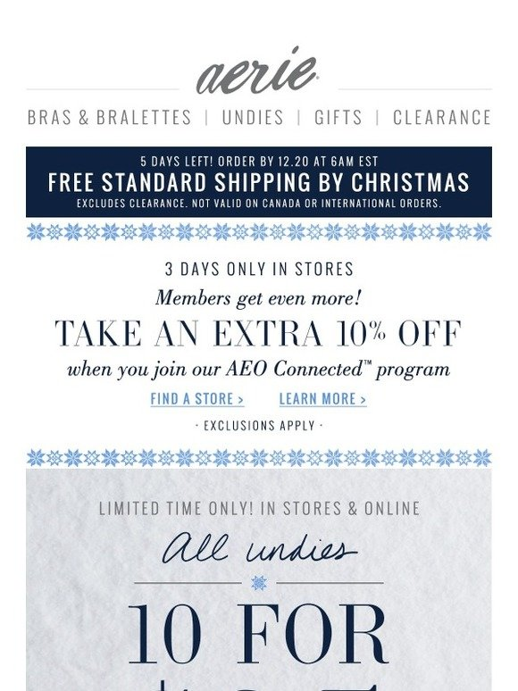 American Eagle Join Our Aeo Connected Program For All The Good