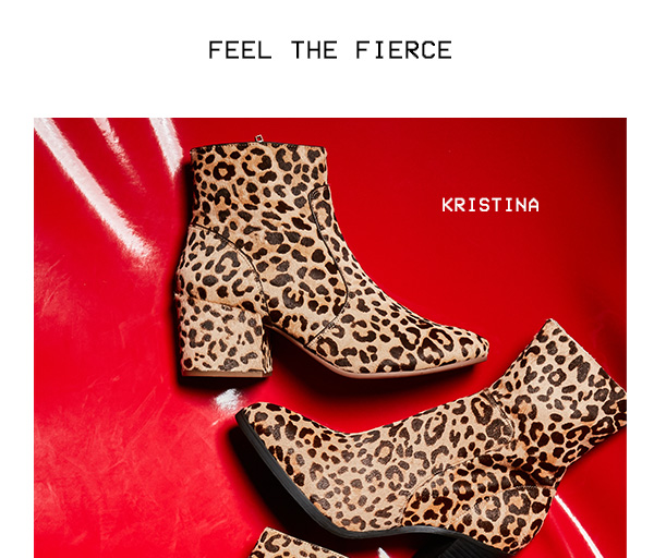 Feel the Fierce: Shop KRISTINA
