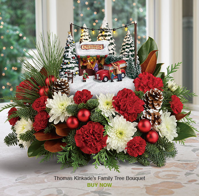 Thomas Kinkade's Family Tree Bouquet