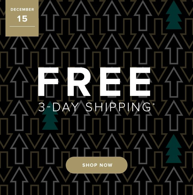 Dec 15 | Free Expedited Shipping | Get it in time for the Holidays | Shop Now