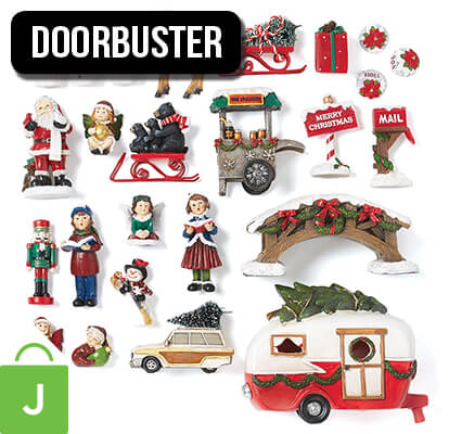 Holiday Littles Miniature Decor Collection.