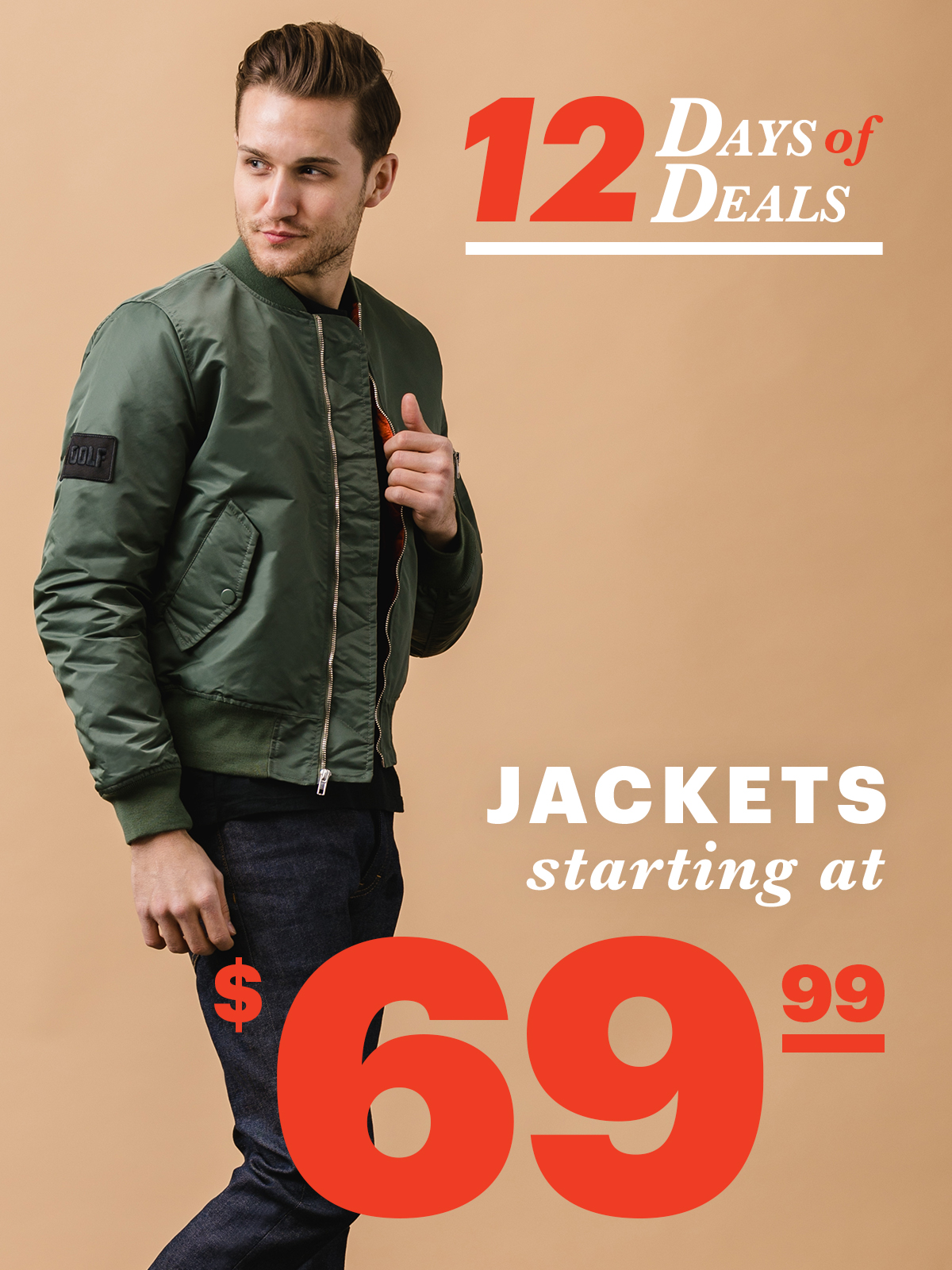 12 Days Of Deals: Day 4 Jackets Starting at $69.99