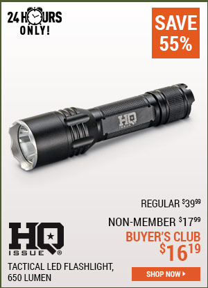 HQ 650-Lumen Flashlight