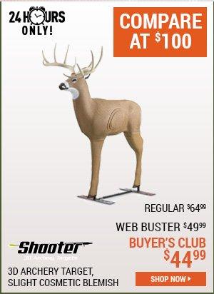 Shooter Buck Blem Target