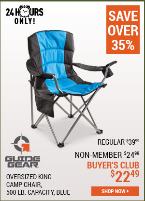 Gear Guide 500 Lbs. King Chair