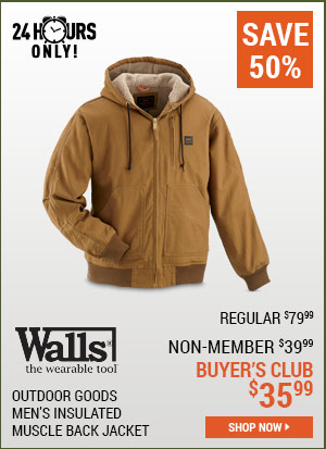Walls Outdoor Men's Insulated Jacket