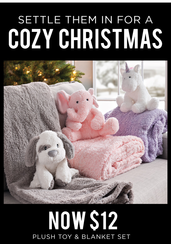 Plush Toy and Blanket Set