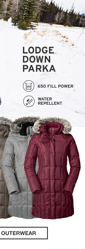 LODGE DOWN PARKA | SHOP WOMEN'S OUTERWEAR