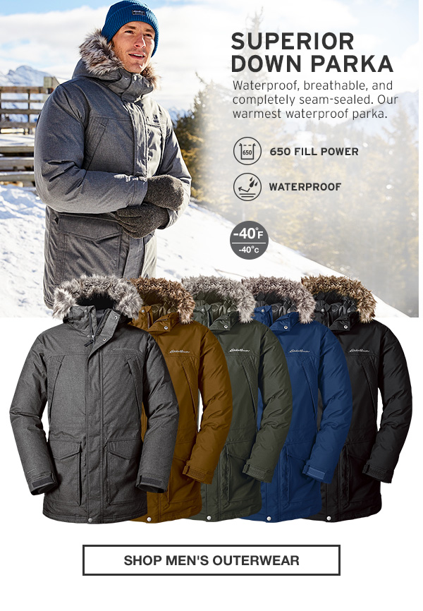 SUPERIOR DOWN PARKA | SHOP MEN'S OUTERWEAR