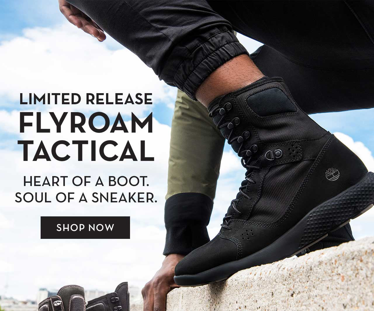 5ebd3c6f5a0 Timberland: Limited Release FlyRoam Tactical Boots   Milled