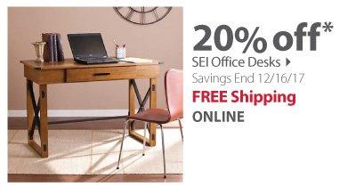 SEI office desk